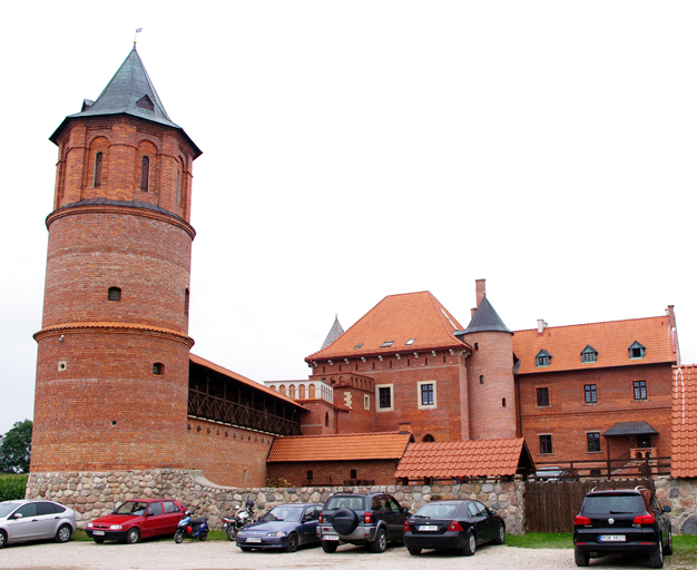 Podlasie - what to see. Tykocin - castle.